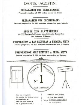 PREPARATION AU DECHIFFRAGE VOL.1 - AGOSTINI